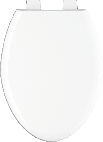 Elongated Slow-Close Toilet Seat, image 4