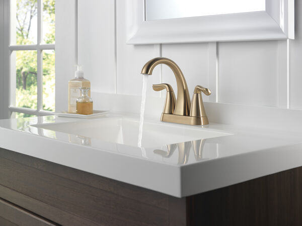 Two Handle Centerset Bathroom Faucet, image 3