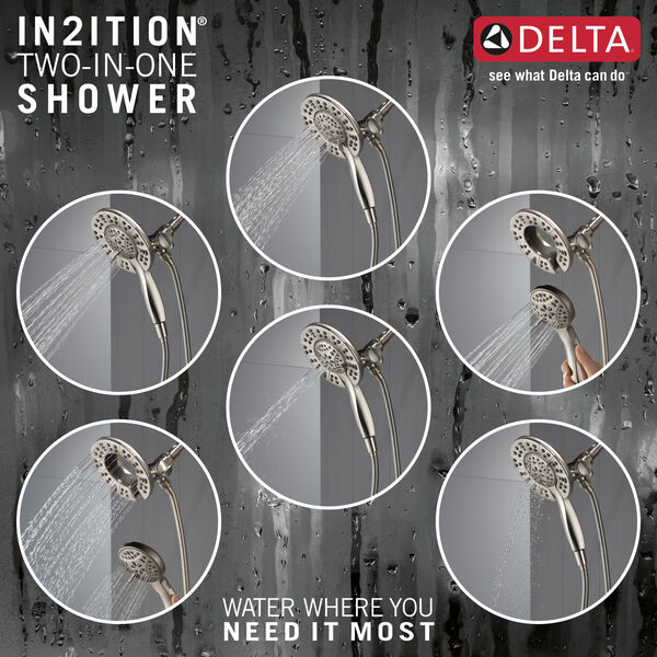 14 Series Tub & Shower Trim with In2ition®, image 3