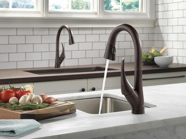 Single Handle Pull-Down Bar / Prep Faucet, image 5