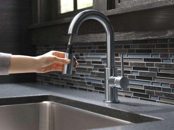 Single Handle Pull-Down Bar / Prep Faucet, image 13