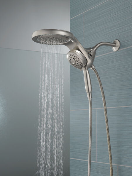 HydroRain® H<sub>2</sub>Okinetic® 5-Setting Two-in-One Shower Head, image 11