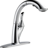 Single Handle Water Efficient Pull-Out Kitchen Faucet