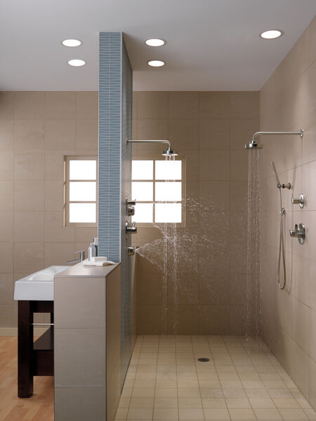 H<sub>2</sub>Okinetic® Single-Setting Raincan Shower Head, image 3