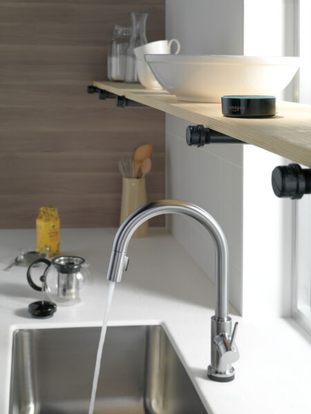 VoiceIQ™ Single-Handle Pull-Down Kitchen Faucet with Touch<sub>2</sub>O® Technology, image 3