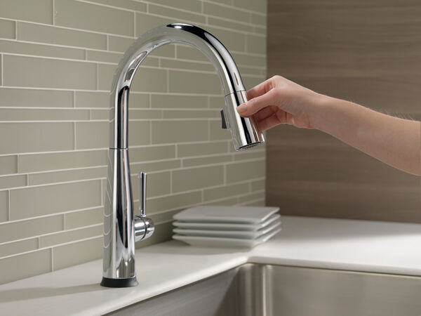 Single Handle Pull-Down Kitchen Faucet with Touch<sub>2</sub>O® Technology, image 13