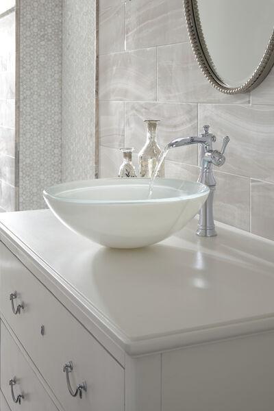 Single Handle Channel Vessel Bathroom Faucet, image 5