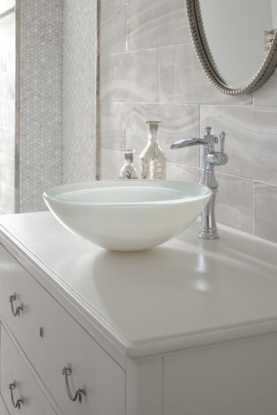 Single Handle Channel Vessel Bathroom Faucet, image 6