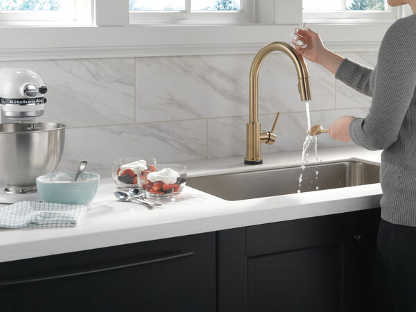 VoiceIQ™ Single-Handle Pull-Down Kitchen Faucet with Touch<sub>2</sub>O® Technology, image 4