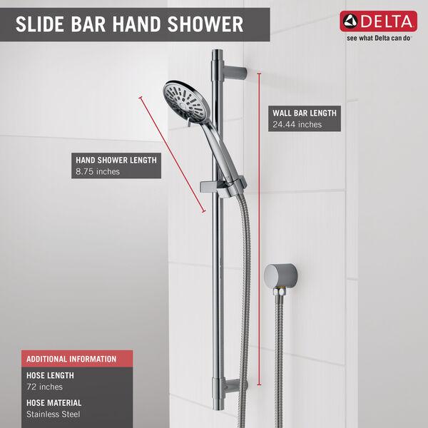 Hand Shower 1.75 GPM w/Slide Bar 4S, image 2
