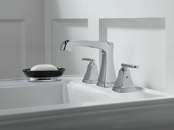 Two Handle Widespread Bathroom Faucet with EZ Anchor®, image 6