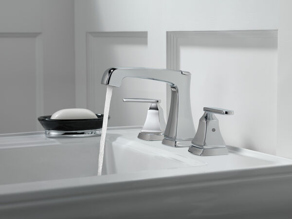 Two Handle Widespread Bathroom Faucet with EZ Anchor®, image 5