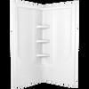 38'' Direct-to-Stud Corner Shower Wall Set