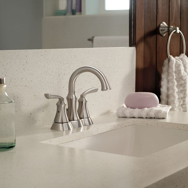 Two Handle Centerset Bathroom Faucet (Recertified), image 3