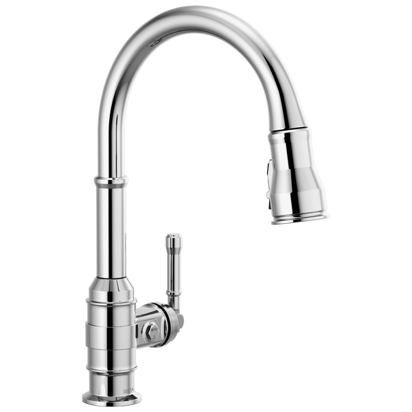 Single Handle Pull-Down Kitchen Faucet, image 1