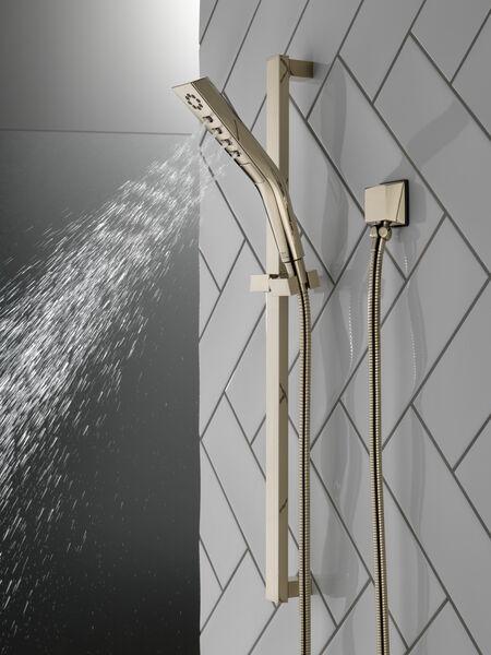 H<sub>2</sub>Okinetic® 3-Setting Slide Bar Hand Shower, image 5