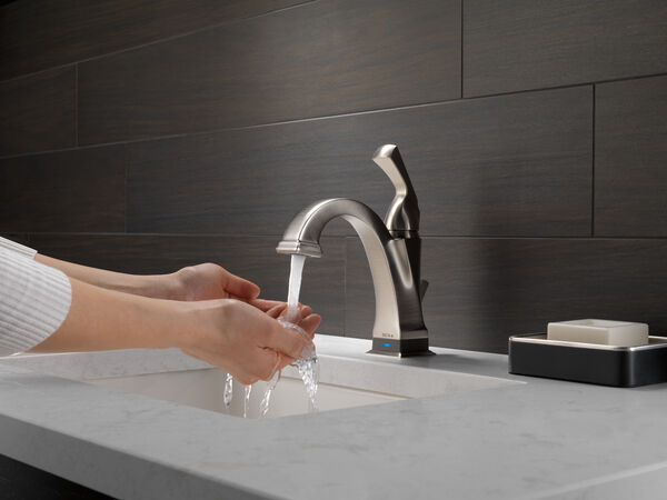 Single Handle Bathroom Faucet with Touch<sub>2</sub>O.xt® Technology, image 14