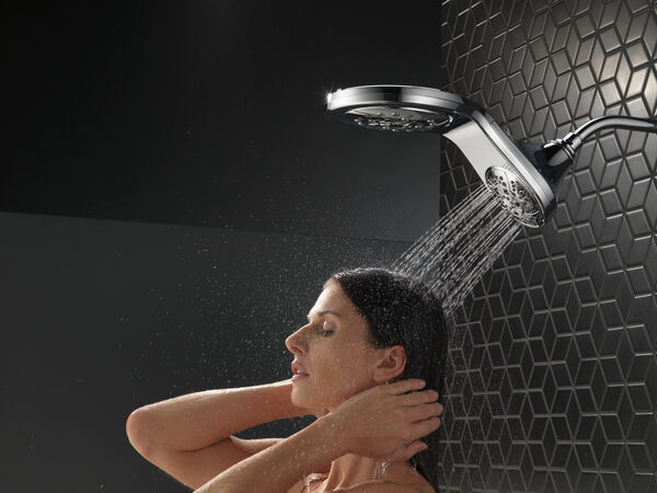 HydroRain® H<sub>2</sub>Okinetic® In2ition® 5-Setting Two-in-One Shower, image 18