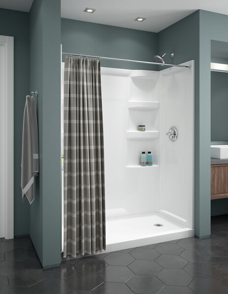 ProCrylic 60 in. x 32 in. Shower Surround, image 10