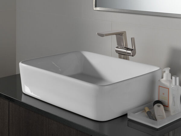 Single Handle Vessel Bathroom Faucet, image 5