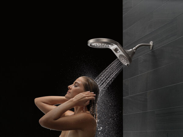 HydroRain® 5-Setting Two-in-One Shower Head, image 15
