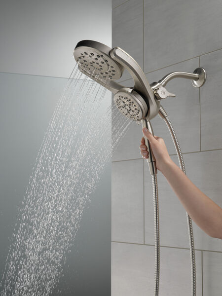 HydroRain® 4-Setting Two-in-One Shower Head, image 5