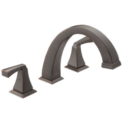 Delta 75146-RB Dryden Bath Towel Ring Venetian Bronze Finish