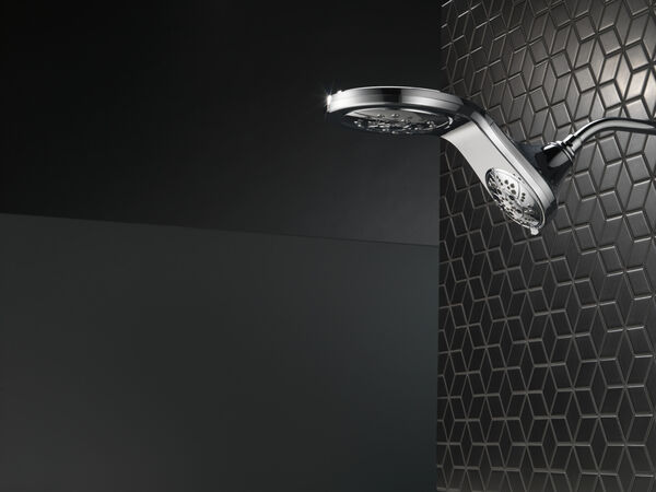 HydroRain® H<sub>2</sub>Okinetic® 5-Setting Two-in-One Shower Head, image 34