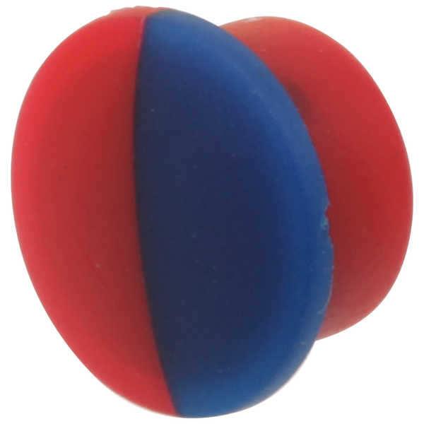 Button - Hot / Cold Indicator - Blue, image 1