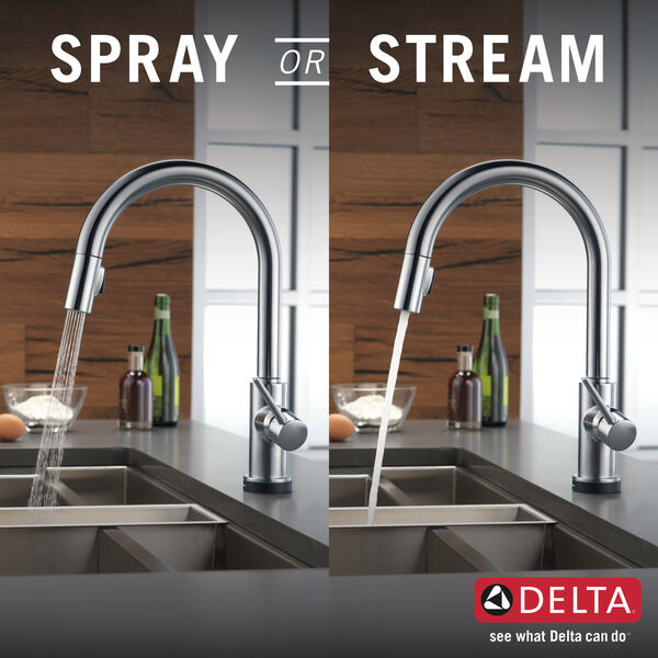 VoiceIQ™ Single-Handle Pull-Down Kitchen Faucet with Touch<sub>2</sub>O® Technology, image 25