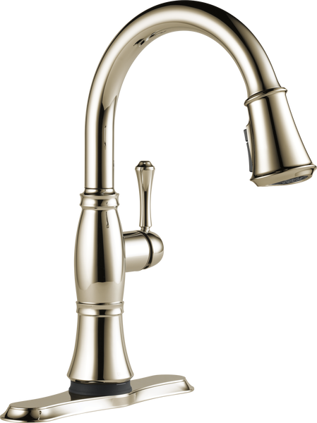 Single Handle Pull-Down Kitchen Faucet with Touch<sub>2</sub>O® and ShieldSpray® Technologies, image 4