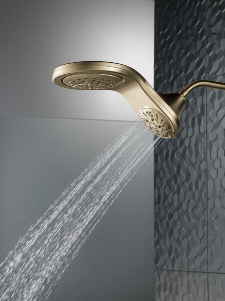 HydroRain® H<sub>2</sub>Okinetic® 5-Setting Two-in-One Shower Head, image 6