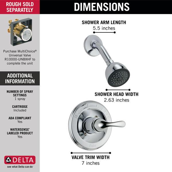 Monitor® 13 Series Shower Trim, image 2