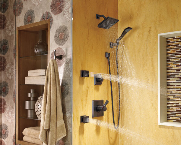 Square Wall Elbow for Hand Shower, image 3