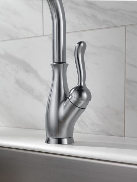 Single Handle Pull-Down Kitchen Faucet with ShieldSpray® Technology, image 2