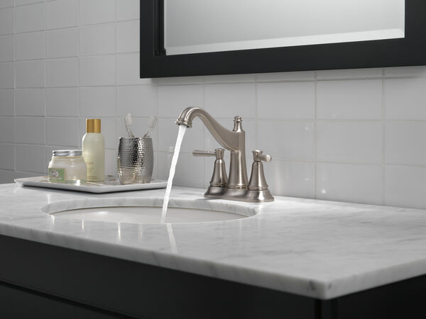 Two Handle Centerset Bathroom Faucet, image 5