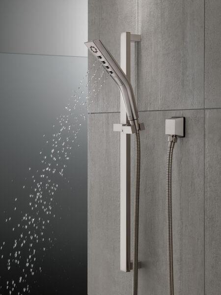 H<sub>2</sub>Okinetic® 3-Setting Slide Bar Hand Shower, image 8