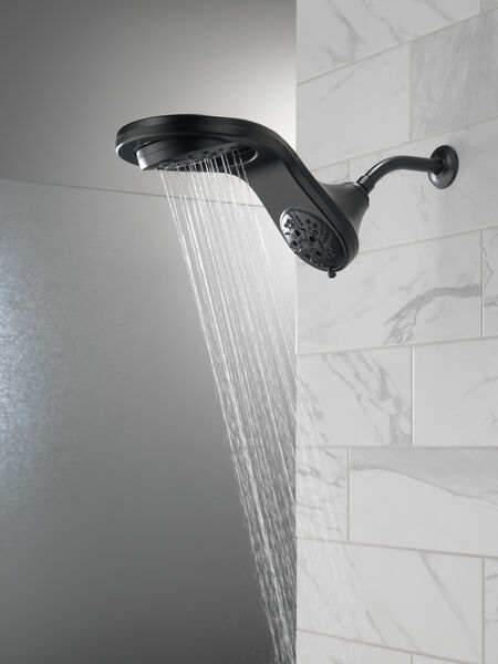 HydroRain® H<sub>2</sub>Okinetic® 5-Setting Two-in-One Shower Head, image 4