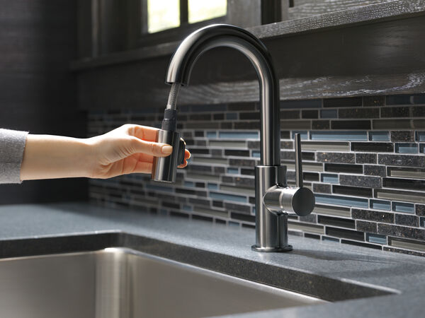 Single Handle Pull-Down Bar/Prep Faucet, image 6