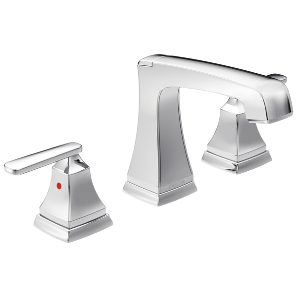 Two Handle Widespread Bathroom Faucet with EZ Anchor®, image 1