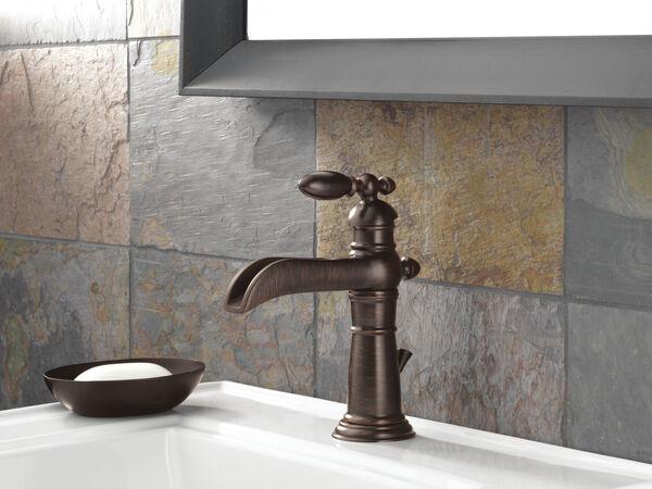 Single Handle Channel Bathroom Faucet, image 7