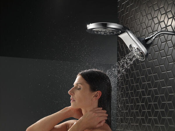 HydroRain® H<sub>2</sub>Okinetic® In2ition® 5-Setting Two-in-One Shower, image 20