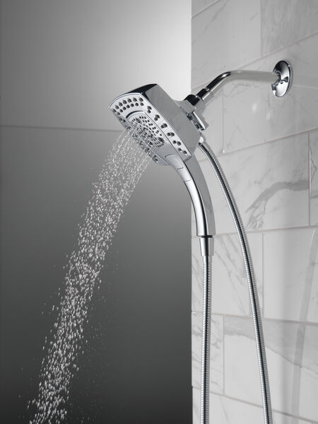 H<sub>2</sub>Okinetic® In2ition® 5-Setting Two-in-One Shower, image 14