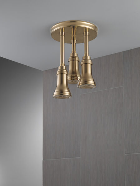 H<sub>2</sub>Okinetic® Pendant Raincan Shower Head with LED Light, image 7