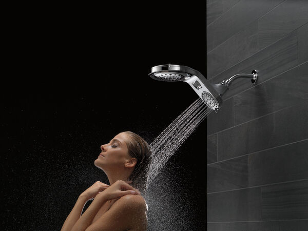 HydroRain® 5-Setting Two-in-One Shower Head, image 13