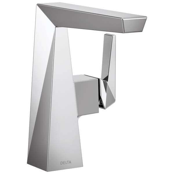 Single Handle Mid-Height Bathroom Faucet, image 1