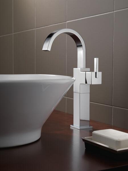 Single Handle Vessel Bathroom Faucet, image 6