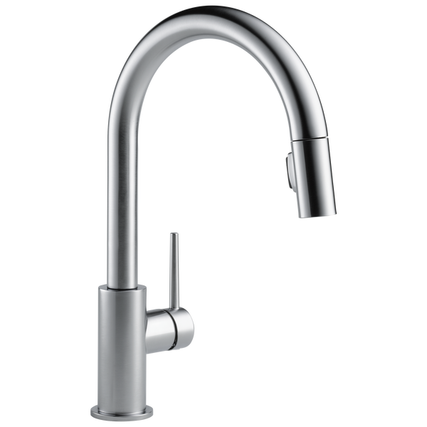 Single Handle Pull-Down Kitchen Faucet (Recertified), image 1