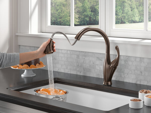 Single Handle Pull-Down Kitchen Faucet with ShieldSpray® Technology, image 6