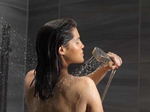 H<sub>2</sub>Okinetic® 4-Setting Slide Bar Hand Shower, image 7